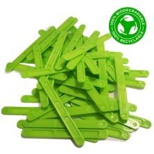 Paletina biodegradable  90 mm para máquinas automáticas reciclabes   (100 unidades)