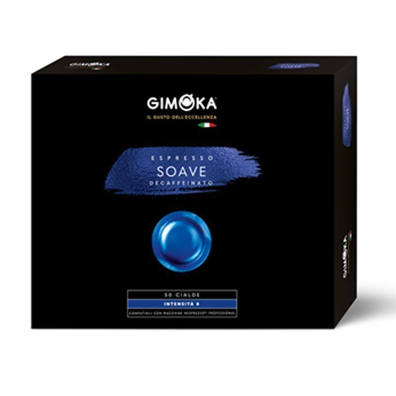 DESCAFEINADO Nespresso® Profesional GIMOKA® 50 cápsulas.