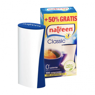 Natreen Classic 400 + 200 comprimidos