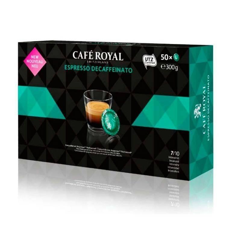 DESCAFEINADO   Café Royal® para NESPRESSO PRO® 50 cápsulas de café