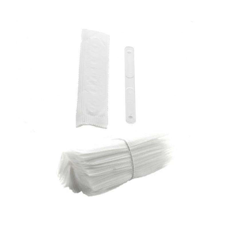 Paletina plástico envuelta individualmente, 50 unidades