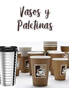Vasos y paletinas para el café